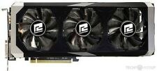 R9 390 8 GB GDDR5 POWER COLOR AMD RADEON 3 COOLERS BLACKPLATE NOT ORIGINAL BOXED