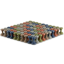 Earth-tone Neodymium MAGNETIC PUSH PINS (50 or 100 pack)