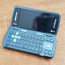 Lg Vx9200 Verizon Mobile Phone Blue Folding Qwerty Keyboard