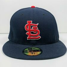 New listing St. Louis Cardinals New Era Alternate On-Field 59FIFTY Fitted Hat 7 3/8