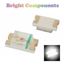10 x 0402 White LED (SMD) - Ultra Bright-UK - 1st Class Post