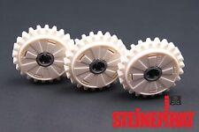 LEGO 60c01 ***NEU*** 3 x Zahnrad mit Rutschkupplung / 24 Zähne / Technic / weiß