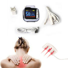 NEW 18 diodes Wrist Cold Laser Therapy LLLT hypertension high blood pressure