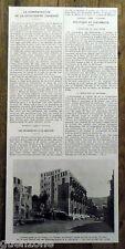 Document photo Wahabites à la Mecque palais ,cherif Madjid 1924 antique print