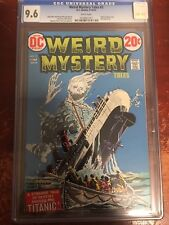 WEIRD MYSTERY TALES - 2 - CGC 9.6 - BEAUTY! - WHITE PAGES - DC COMICS - 1972