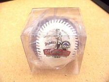 1999 Opening Day Coors Field San Diego Padres Colorado Rockies baseball ball IBM