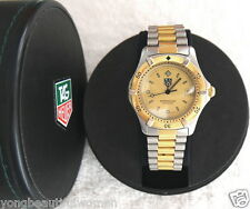 TAG HEUER 2000 Series Professional 964.013R Gold & Stainless Steel Date Watch