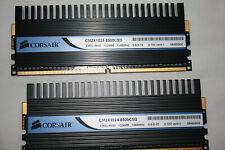 Corsair Dominator 2GB  2X1GB  CM2X1024-8500C5D 1024MB 1066MHZ XMS2-8500 5-5-5-15