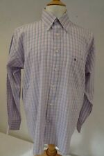 "TOMMY HILFIGER   cotton SHIRT  Pink/Blue     collar 16"" / 41cm    L     064 W"