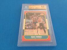 Isiah Thomas Pistons HOF 1986 Fleer Rookie #109 BGS 9.5 Gem Mint
