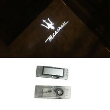 Welcome Courtesy LED Door Light Projector Logo HD For MASERATI GHIBLI 2014-2016