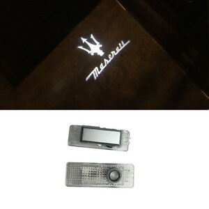 Welcome Courtesy LED Door Light Projector Logo For MASERATI GHIBLI QUATTROPORTE