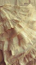 Lot Antique Victorian Edwardian Vintage Cotton Slips Doll Undergarments Clothes
