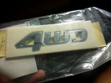 """Genuine 2004~ 2009 Hyundai Tucson """"4WD"""" Emblem"""