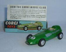 Corgi Toys No. 150, Vanwall 'Formula 1 Grand Prix' - Superb