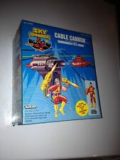 Sky Commanders CABLE CANNON vehicle with Commander PETE CRANE NEW Kenner 1987