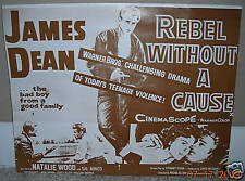 James Dean - Rebel Without A Cause - Ad Poster