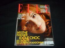 2005 APR 18 ELLE MAGAZINE IN FRENCH - MYLENE FARMER - FASHION MODELS - B 884