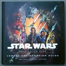 NEW Legacy Era Campaign Guide — Star Wars Saga Edition RPG SWSE WotC d20