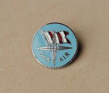 DAN AIR Airways Airline  pin badge metal  DANAIR by Squire