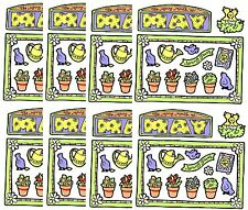 Frances Meyer MAY Spring Flower Scrapbook Stickers 8 Sheets