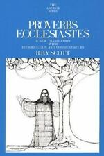 Proverbs and Ecclesiastes (The Anchor Bible, Vol. 18) by Scott, R.B.Y.