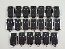 LOT OF 20 GMC SIERRA CANYON 14-20 CHROME REMOTE START OEM KEY LESS ENTRY GM SUV