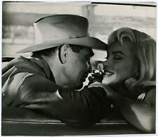 Clark Gable, Marilyn Monroe Original 1961 The Misfits Photograph Their Last Film