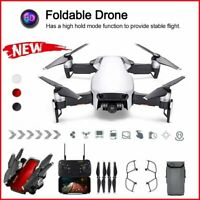 WIFI Drone With 1080P HD Camera Foldable RC Aircraft Quadcopter Selfie FPV GPS