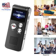 Digital Voice Activated Recorder Mini Spy Dictaphone Sound Audio Recorder MP3 US