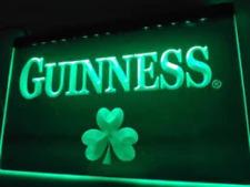 Guinness Led Sign Shamrock Man Cave Bar Pub