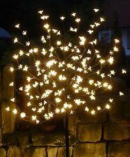 LED Baum mit 180 Blüten in WARMWEIß Lichterbaum Höhe 150cm für AUSSEN     514366