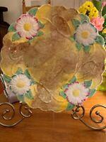 James Kent LTD~Annette~Daisys Display Plate~Gorgeous~Art Nouveau~England