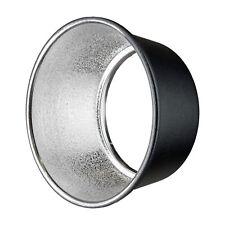 HENSEL | Metall Schirm-Floodreflektor mit EH-Anschluss | Lichtformer | silber
