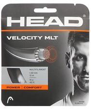 Corde Tennis HEAD Velocity Mlt nero 1.30 n.8 matassine 12m multifilamento