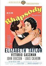 RHAPSODY (1954 Elizabeth Taylor) - Region Free DVD - Sealed