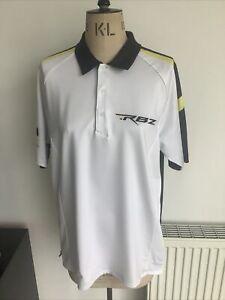 Adidas RBZ Clima Cool Golf Polo T Shirt Size M VGC