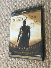Dvd Gladiator Russell Crowe Signature Dts Dual Layer Wide Screen New Sealed