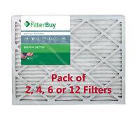 Pleated HVAC AC Furnace Air Filter AFB Platinum FilterBuy 16x24x4 MERV 13