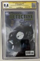 Detective Comics 872 CGC 9.4 SS Signed by Snyder and Francavilla Batman Sketch