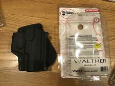 Fobus Paddle Holster Black Plastic FOR Walther P99 WA99