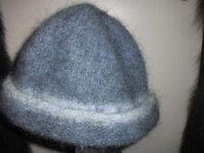Handmade Wool Felt Hat w/Beads   Hat Hautees