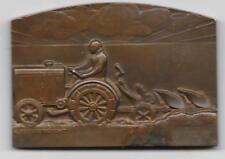 Médaille Comice Agricole de Chartres paysan fermier tracteur ALBERT HERBEMONT
