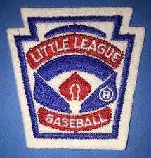 Rare Vintage 1980's Little League League Baseball Uniform Patch Crest 252R