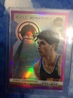 John Stockton 2013-14 Panini Prizm Hall Monitors Prizm Die-Cut #/49 Card RARE