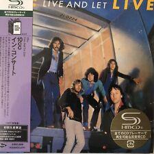 10cc - Live and Let Live(SHM-CD. jp mini LP), 2009 UICY-93818/9