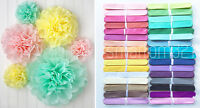Tissue Pom Poms Paper Flower Home Wedding Birthday Tea Party Table Decoration