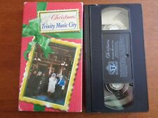 CHRISTMAS AT TRINITY MUSIC CITY Vhs Video Tape TBN Trinity Broadcasting Network