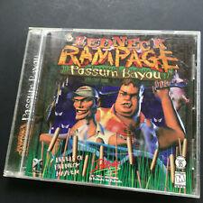 Redneck Rampage Possum Bayou ( 1998 PC Game )
