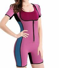 SEXYWG Women Neoprene Sauna Shapewear Sweat Workout Hot Wet Suit Weight Loss